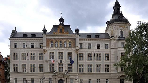 Okresní soud v Karlových Varech. (Ilustrační foto)