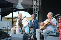 Banjo Band Ivana Mládka na snímku z Karlovarského kulturního léta.