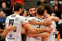 Volejbalisté Karlovarska přešli do osmifinále CEV Challenge Cupu - Vyzývacího poháru přes běloruský Minsk.