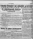 """Stejně tak podaly zprávu o výsledcích jednání vBerlíně. """"Das Reich nimmt Böhmen und Mähren unter seinem Schutz"""" (Říše vezme Čechy a Moravu pod svou ochranu)."""