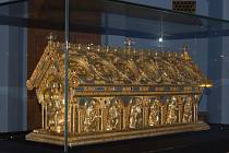 Relikviář sv. Maura na zámku v Bečově.