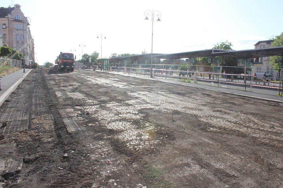 Kvůli revitalizaci musí cestující počítat s omezením na dopravním terminálu.