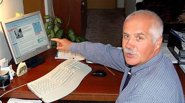 Ředitel Městského zařízení soc. služeb Aleš Walter odhalil podvodníky.