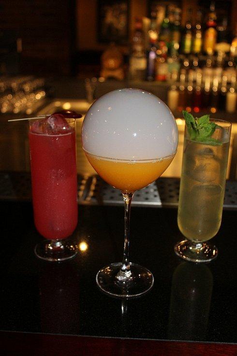 Tři nejžádanější koktejly Becher´s baru.