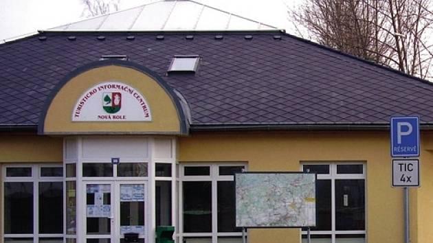 Infocentrum v Nové Roli.