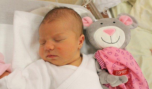 Ivanka Mikulová z Toužimi se narodila 31. 5. 2013