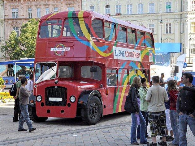 Olympijská kampaň Žijeme Londýnem v Karlových Varech