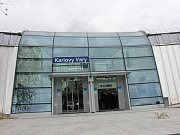 Odbavovací hala Horního nádraží v Karlových Varech