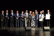 Slavnostního předání certifikátů UNESCO starostům lázeňských měst v karlovarském divadle.