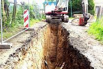Kanalizační systém by tu měl být dokončen letos na podzim