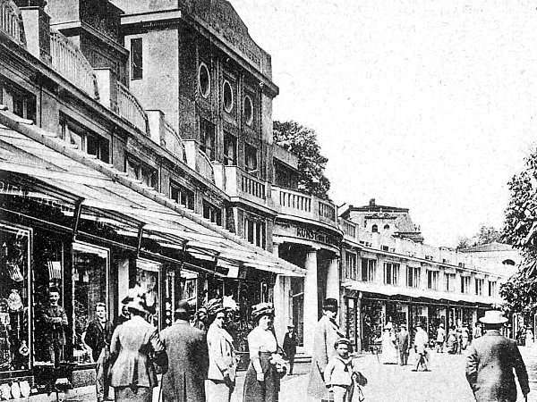 Galerie umění na počátku 20.století.