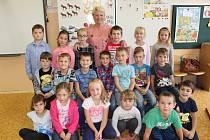Žáci 1. B ze Základní školy Krušnohorská v Karlových Varech