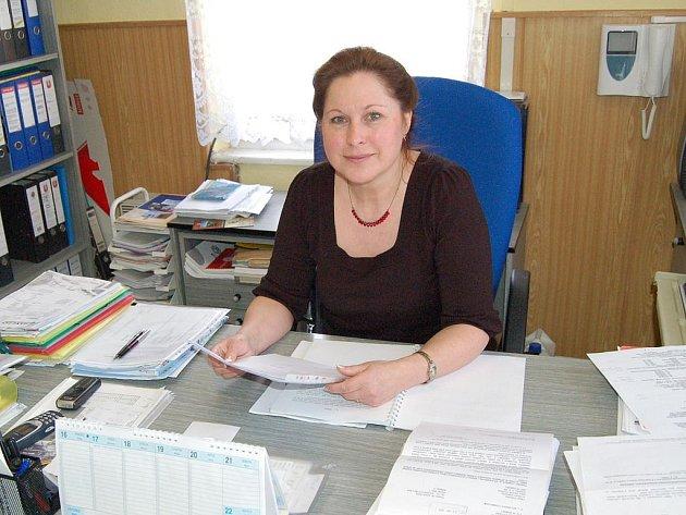 Jarmila Fořtová, starostka Potůčků