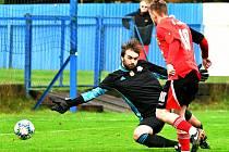 Šlágr kola přetavili v jednoznačnou gólovou záležitost fotbalisté Nejdku, kteří porazili Chodov vysoko 6:1.
