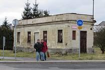 Bývalá železniční zastávka