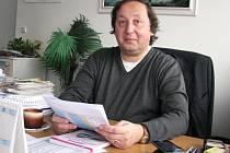 Ředitel Dopravního podniku Pavel Bohánek