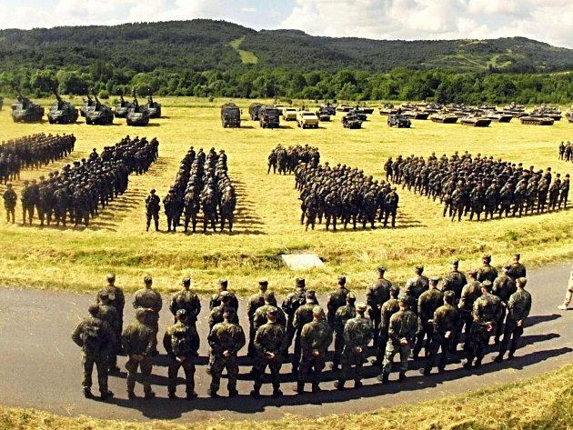 Hranice vojenského prostoru se mírně posunou a díky tomu vzniknou dvě obce.