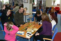 V a–klubu krajské knihovny se uskutečnil už třetí ročník Festivalu her.