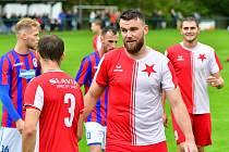 Ludvík Tůma, stoper FC Slavia Karlovy Vary.