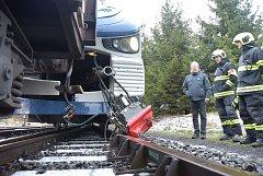 Místo nehody před karlovarským dolním nádražím.