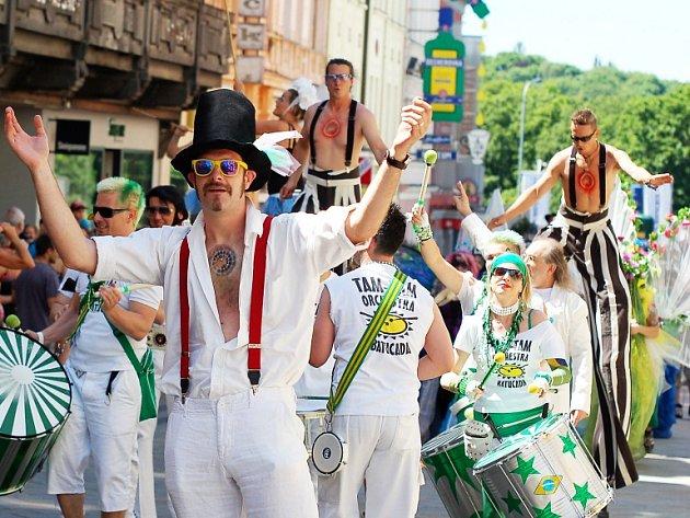 Karneval roztančil celé město
