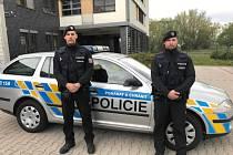 Policisté z Obvodního oddělení policie Karlovy Vary - město
