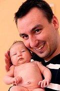Julinka Zikmundová z Karlových Varů se narodila 4.4.2011