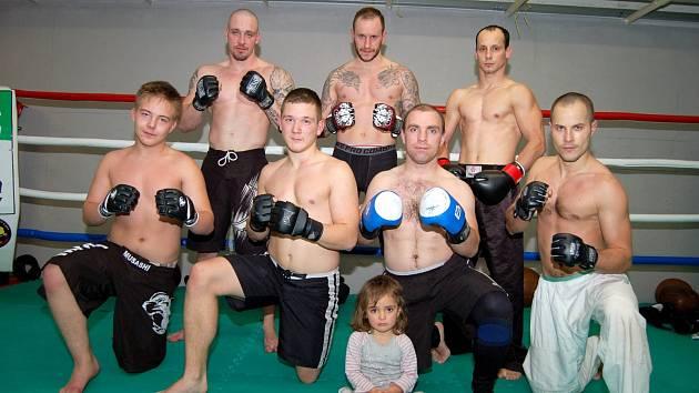 Trénink MMA Horní Slavkov a Ju-jitsu Karlovy Vary