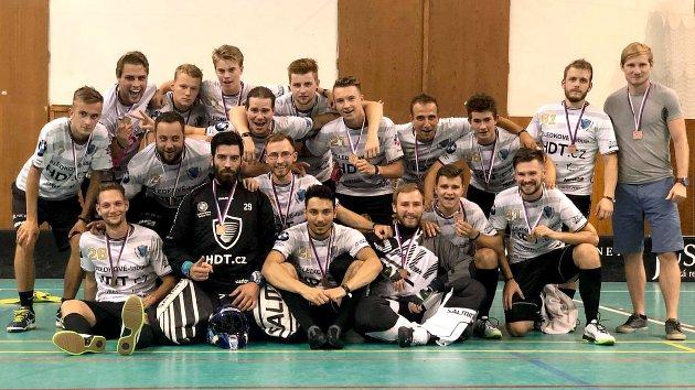Floorball Czech Open 2018. Bronz vybojovali hráči FB Hurrican.