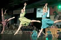 Z vystoupení úspěšného tanečního souboru Mirákl.