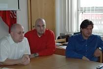 Spolupráce s městem. Tomáš Nešpor (vpravo) ze společnosti Laverna Romana se podílí s městem hned na několika projektech. Město mu pomáhalo se SpaMagazinem, Laverna Romana naopak spolupracuje na mezinárodním projektu Cultura 2000.