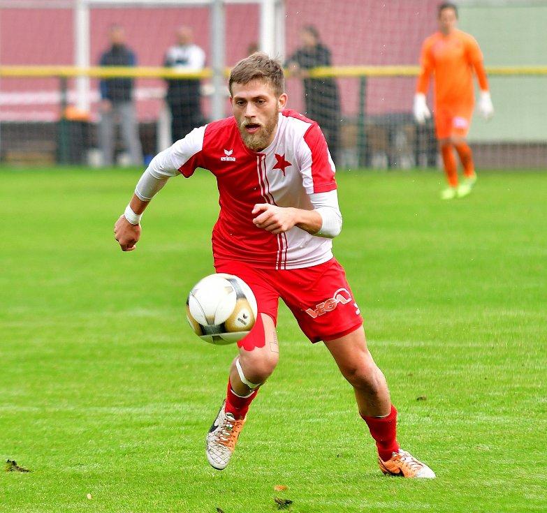 Do zahraničí zamíří z karlovarské Slavie Pavel Maňák, který nově bude působit v německém SV Poppenreuth e. V.