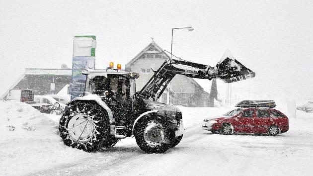 Sníh na Božím Daru