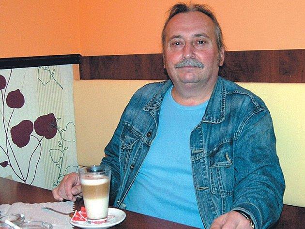Miroslav Dědek Zábranský z kapely Proměny
