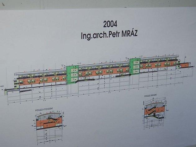 Architekt Mráz upozorňuje, že to nebyl on s kolegou, kdo můžou za finální podobu garážovacího domu, který navždy změnil původní ráz Karlových Varů.