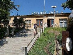 Horní nádraží v Karlových Varech.