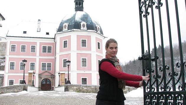 Mnohé hrady a zámky, například Bečov, v zimě nespí.