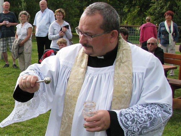 Slavnostní vysvěcení kaple provede loketský farář Jiří Majkov.