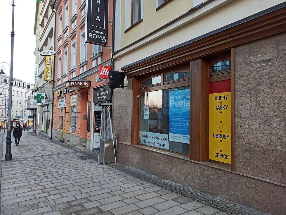 Také v obchodně správní části města jsou provozovny k pronájmu.