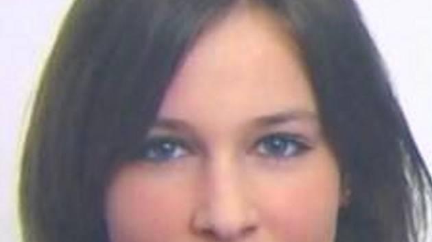 Pohřešovaná Natálie Břízková.