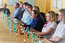 Setkání starostů z Karlovarska.