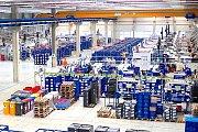 Výrobní hala jednoho ze závodů WITTE Automotive, nejdynamičtěji rostoucího zaměstnavatele Karlovarského kraje.