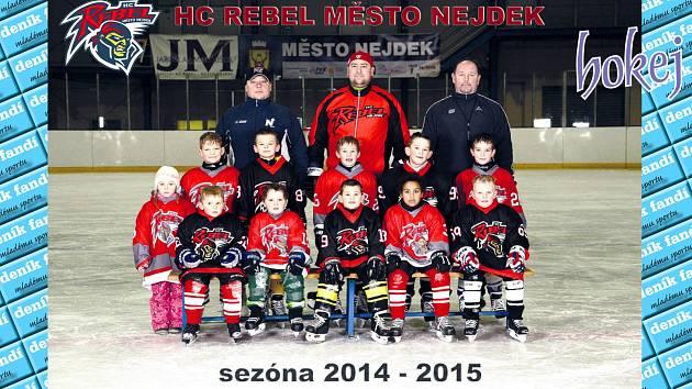 HC Rebel město Nejdek ročník 2007.