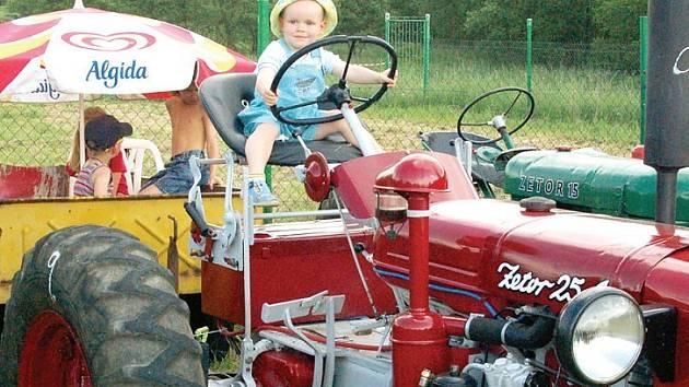 Traktoriáda se povedla.