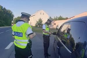 Dopravně bezpečnostní akce Policie ČR.