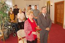 Manželé Latislavovi oslavili zlatou svatbu