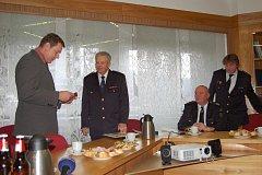 František Starý ze Žlutic  získal nejvyšší možné hasičské ocenění.