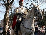 Svatý Martin na bílém koni. (Ilustrační foto.)