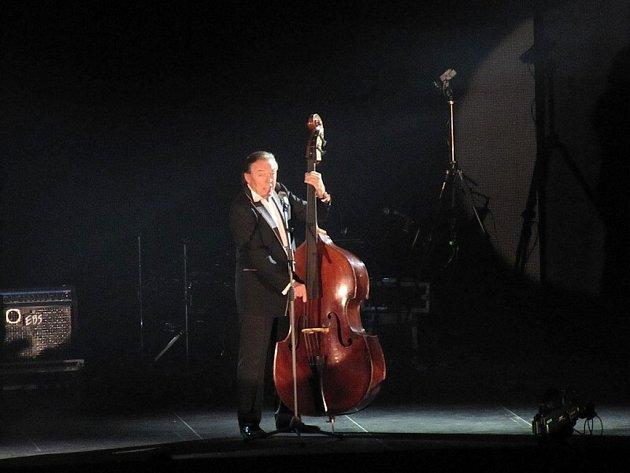 Koncert Karla Gotta v karlovarské KV Areně.