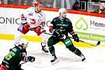 Hokejisté karlovarské Energie si po týdnu zopakovali vysokou výhru z ledu Komety Brno. Tentokrát energetici vyhráli pětigólovým rozdílem v Třinci.